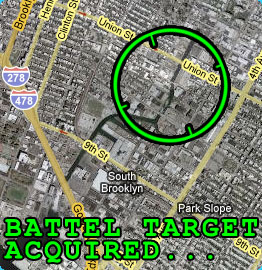 Battel Target Acquired... Brooklyn!