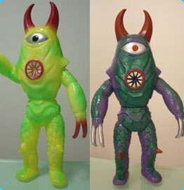 Two new Sky Deviler Vinyl Toy Variants